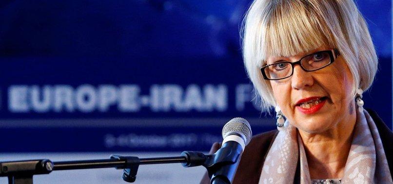 EUROPEAN UNION CITES PROGRESS ON IRAN BARTER SYSTEM