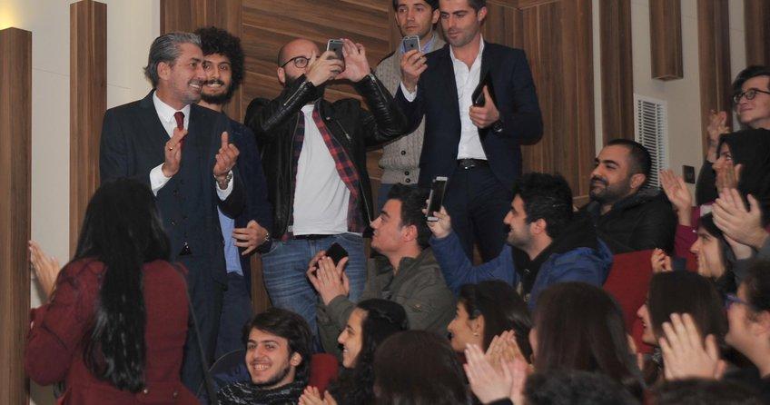 Erkan Petekkaya hayalini öğrencilere açıkladı