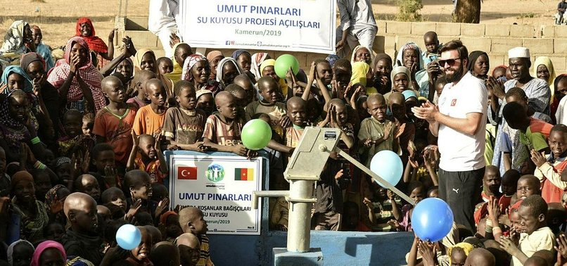 TURKISH CHARITY BUILDS 11 WELLS IN CAMEROON