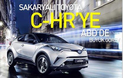 Sakaryalı Toyota C-HR'ye ABD'de büyük görev