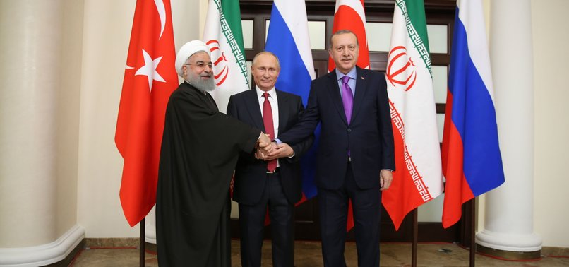 IDLIB TO BE DISCUSSED AT TRILATERAL SUMMIT IN ANKARA WITH RUSSIAN AND IRANIAN LEADERS, ERDOGAN SAYS