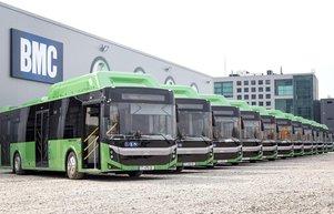 BMCden Gürcistana 261e otobüs