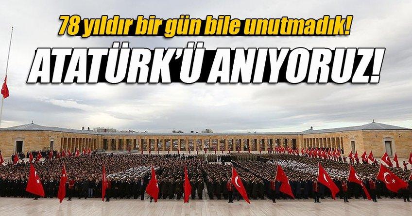 Gazi Mustafa Kemal'i anıyoruz