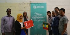 Ethiopian students eager to learn Turkish