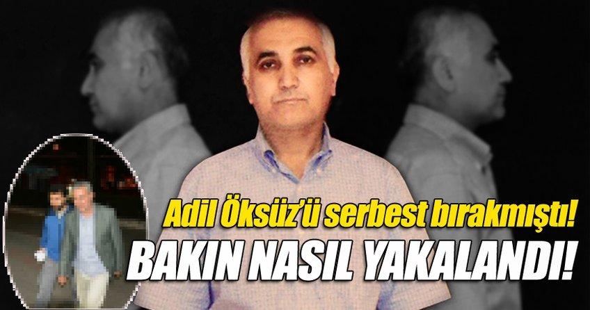 Adil Öksüz'ü serbest bırakan eski hakim Sönmez yakalandı