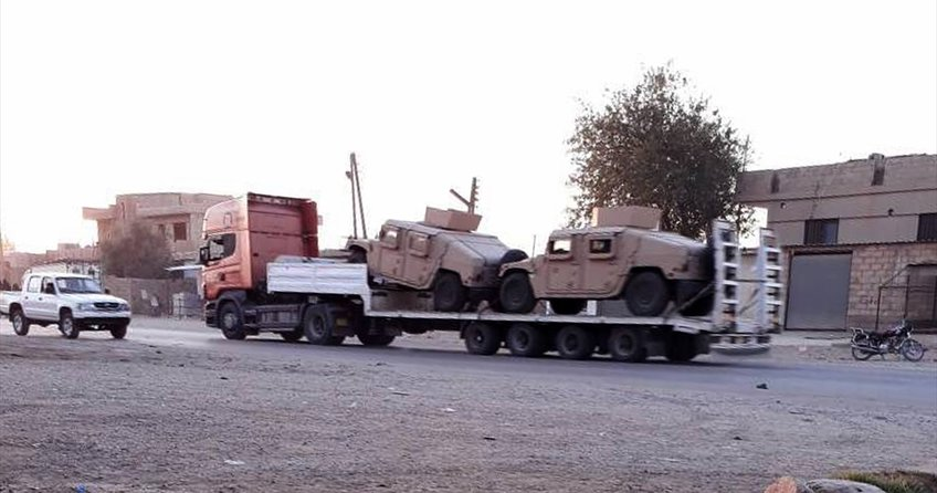 ABDden PKK/PYDye askeri sevkiyat
