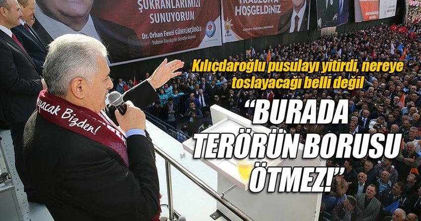 Başbakan Yıldırım Trabzon'da konuştu