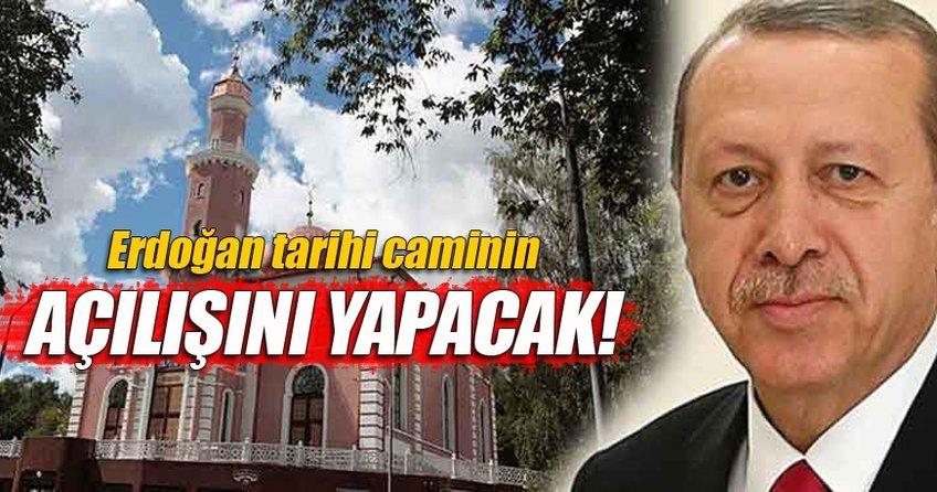 Cumhurbaşkanı Erdoğan  Belarus'ta Minsk Camii'nin açılışını yapacak