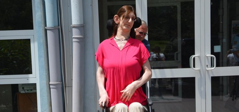 TURKISH WOMAN WHO IS OVER 2.15M NAMED TALLEST IN WORLD