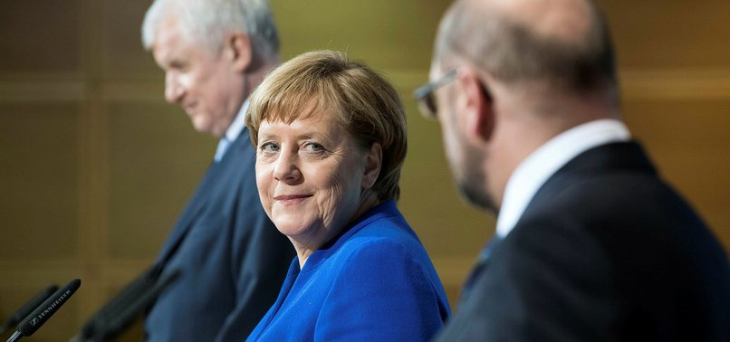 MERKEL MOVES A STEP CLOSER TO NEW GERMANY COALITION GOVERNMENT