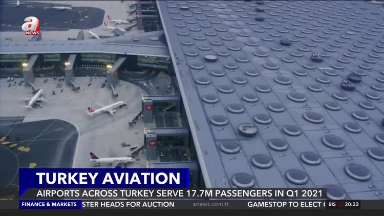 Turkey's airports serve 17.7M passengers in first quarter of 2021