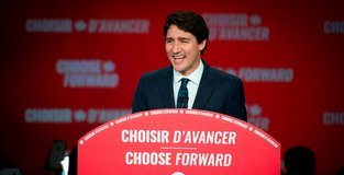 Canadas Trudeau wins 2nd term but loses majority