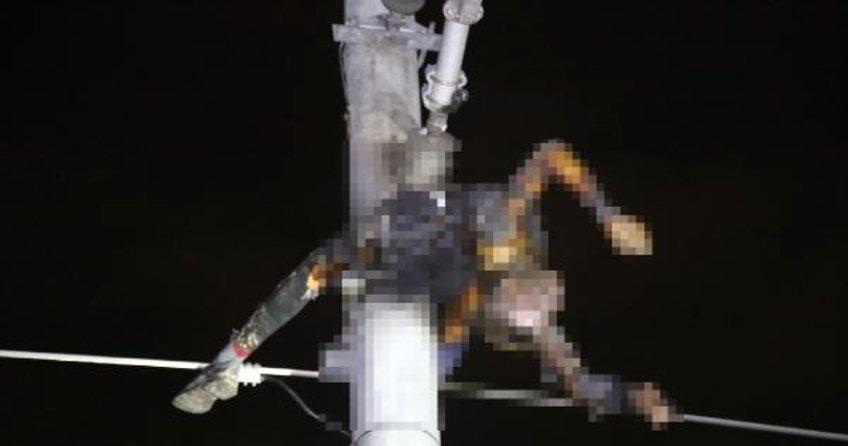 İzmit'te YHT hattının elektrik kablosunu çalarken akıma kapılıp öldü