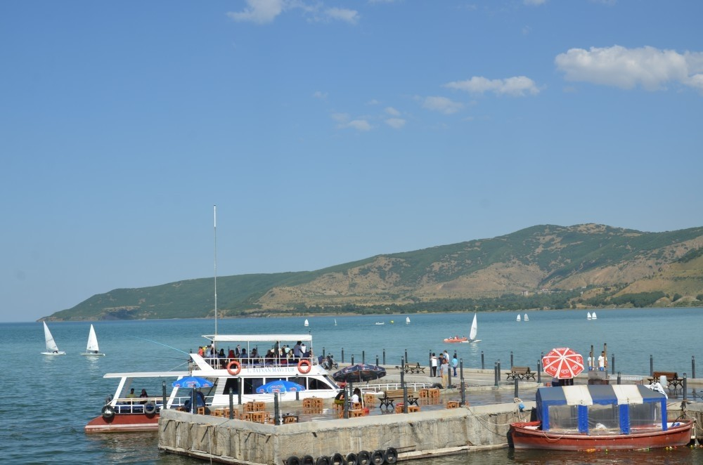 A view from Lake Van