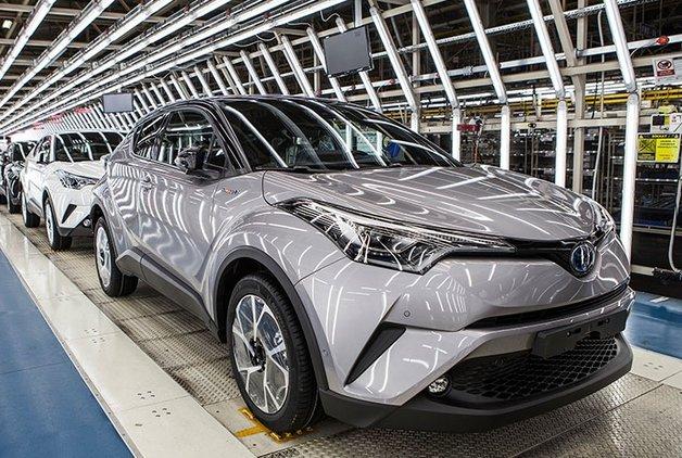 Toyota Türkiye'ye ihracat ödülü