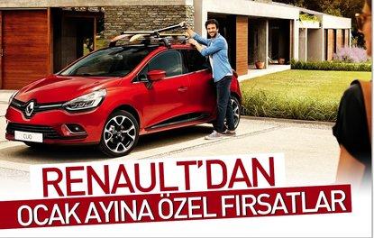 Renault'dan Ocak ayına özel fırsatlar