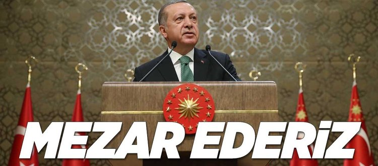 Erdoğan: Kürt devletine asla izin vermeyeceğiz
