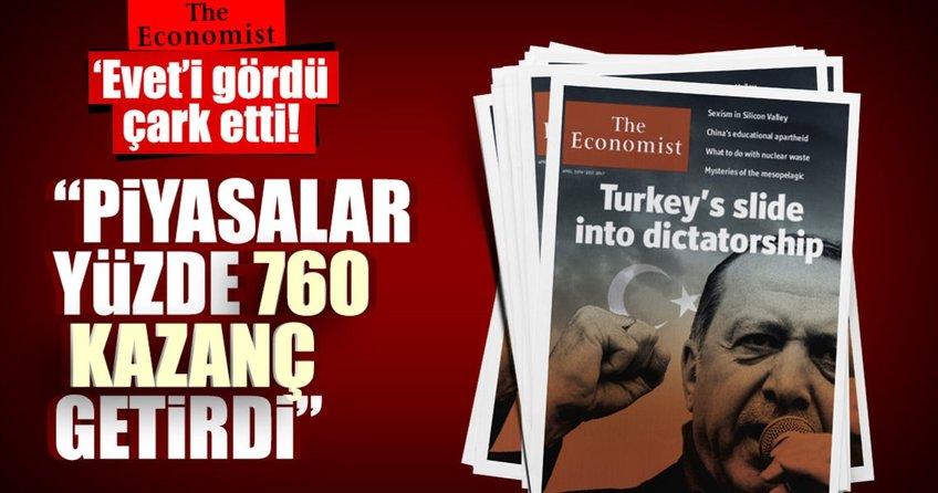 Eveti gören The Economist çark etti!