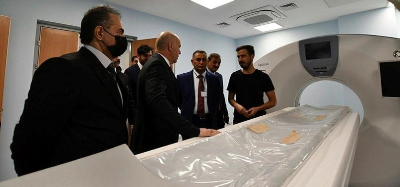 Iraqi PM al-Kadhimi inaugurates Nasiriyah hospital built by Turkish firm