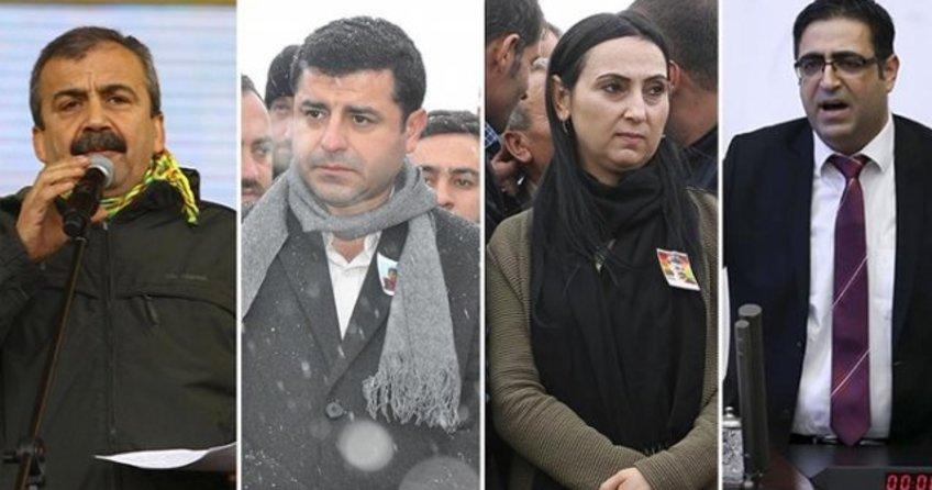 HDP'liler gözaltına alındı!