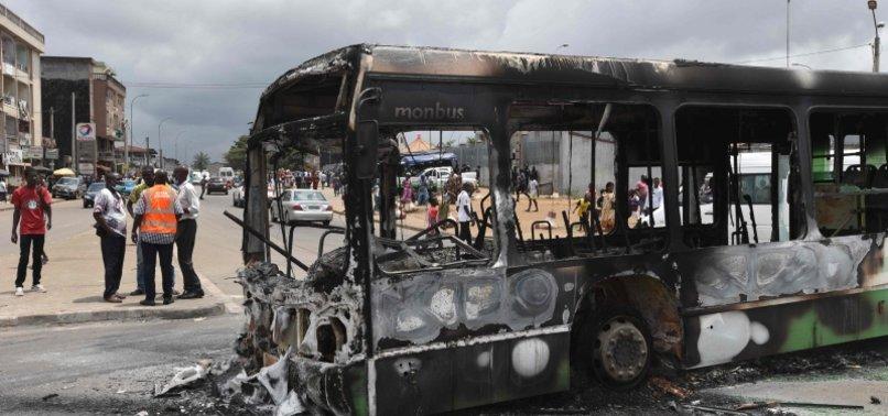 PROTESTS ERUPT IN IVORY COAST AGAINST OUATTARAS THIRD TERM BID
