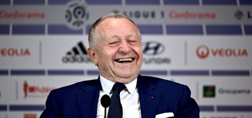 LYON BOSS CALLS FRENCH LEAGUES HALT TO LIGUE 1 STUPID