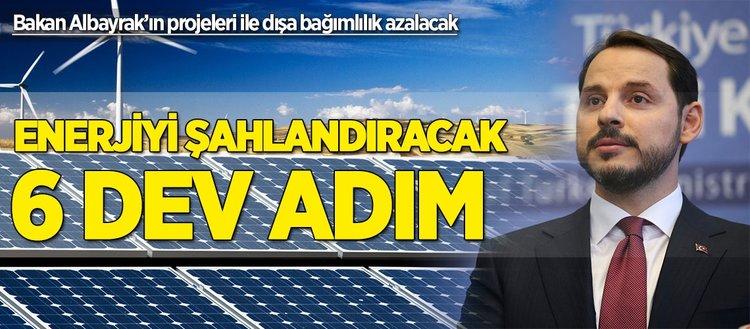 Bakan Albayrak'ın projeleri ile dışa bağımlılık azalacak