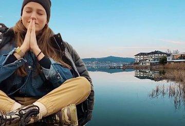 Serenay Sarıkaya, Avusturyada vücudunu ve ruhunu arındırdı!