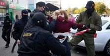 Numerous arrests in Belarus as women rally against Lukashenko