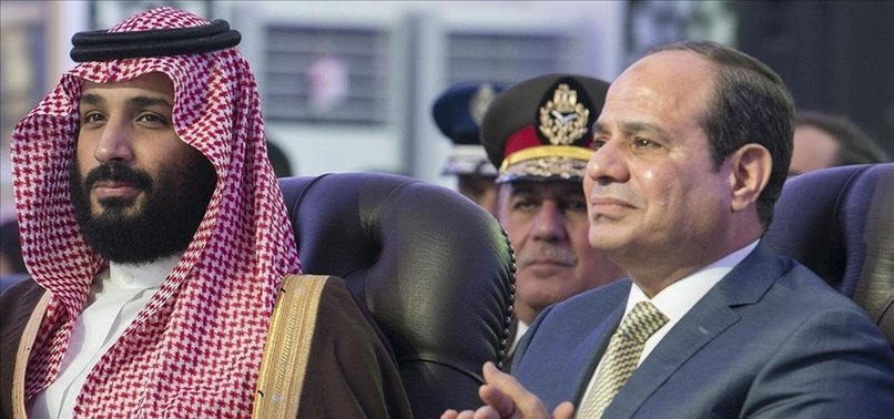 EGYPTS SISI MEETS SAUDI CROWN PRINCE IN SHARM EL SHEIKH