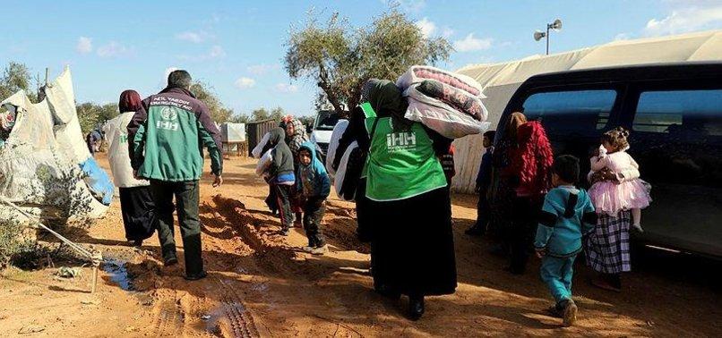 TURKEY'S IHH OFFERS GAZAN FAMILIES FINANCIAL AID