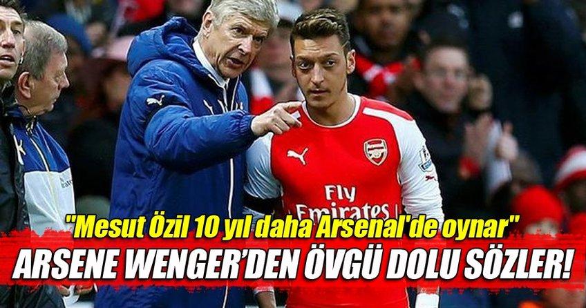 Mesut Özil Arsenal'de efsane olacak