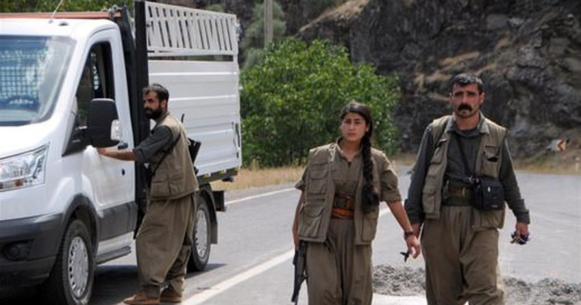 PKK'a Bitlis'te yol kesti; 1 polis yaralı