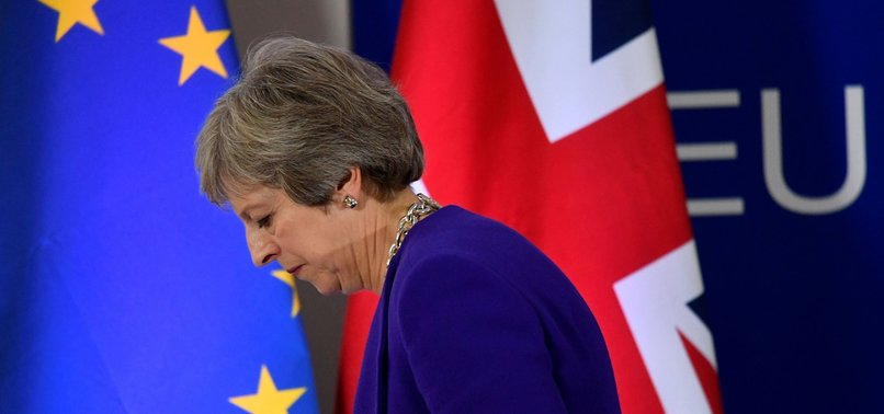 EU COMMISSION SAYS NO-DEAL BREXIT ON APRIL 12 LIKELY
