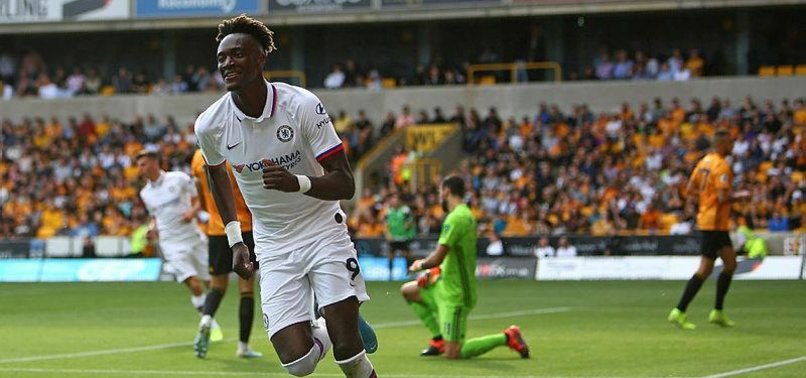 CHELSEAS ABRAHAM HITS HAT-TRICK IN 5-2 WIN OVER WOLVES
