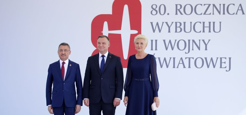 VICE PRESIDENT OKTAY ATTENDS WWII CEREMONY IN POLAND