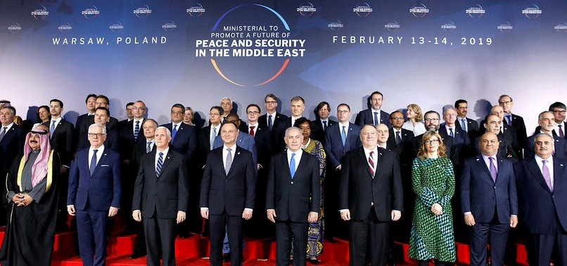 MIDEAST SUMMIT IN WARSAW NORMALIZES ISRAELI OCCUPATION: PALESTINIAN OFFICIAL