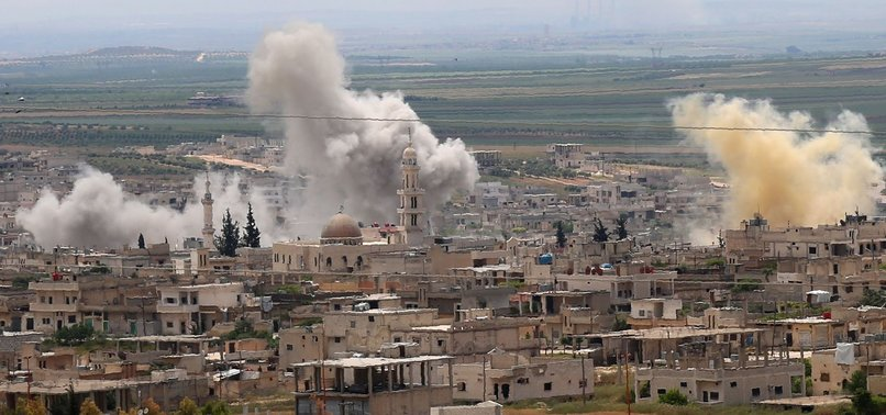 REGIME AIRSTRIKES KILL NEARLY 20 IN SYRIA'S DE-ESCALATION ZONE