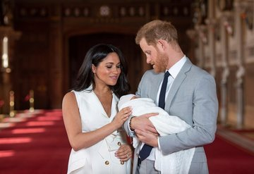 Prens Harry ve Meghan Markleın 2. Çocukları Dünyaya Geldi