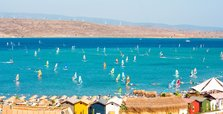 Never-ending wind makes Alaçatı a windsurfing heaven