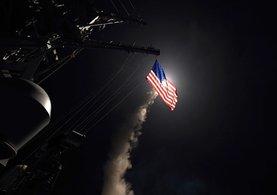 ABD'nin Suriye'ye saldırısından ilk görüntüler