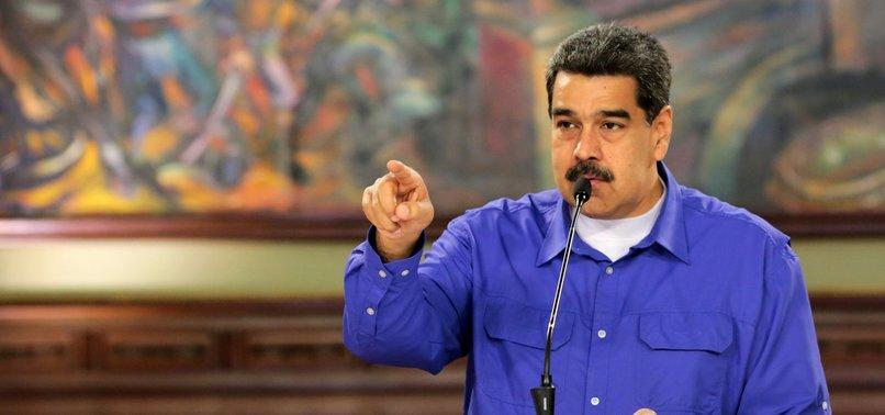 MADURO SAYS COLOMBIA'S EX-LEADER PLOTTING HIS KILLING
