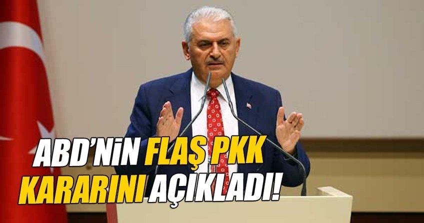 Başbakan Yıldırım'dan son dakika açıklaması