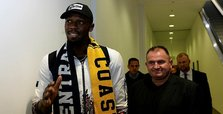 Usain Bolt in Australia to start new football career