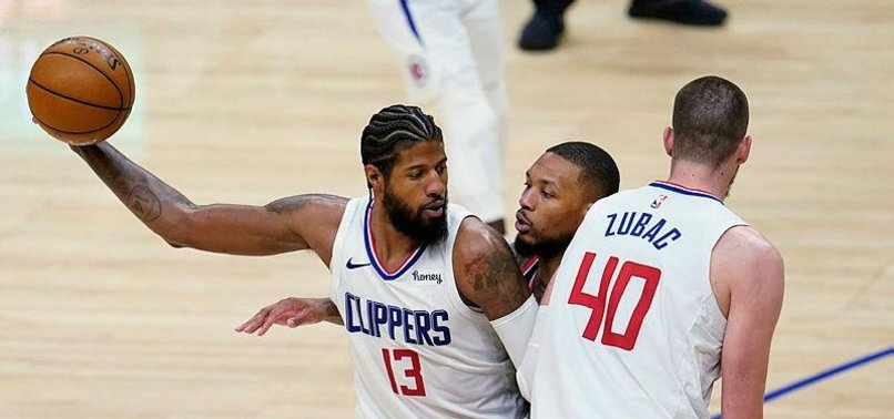 LOS ANGELES CLIPPERS GET OFF TO FAST START IN WIN OVER PORTLAND TRAIL BLAZERS