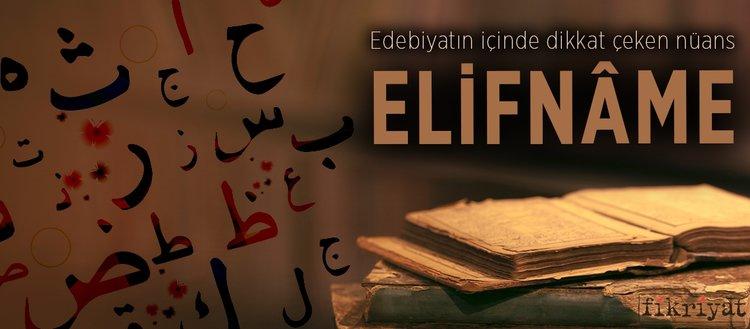 Edebiyatın içinde dikkat çeken nüans: Elifnâme