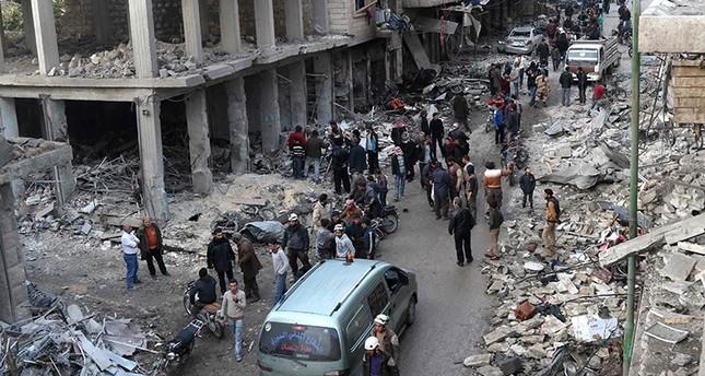 Regime, Russian bombings kill at least 52 in Idlib