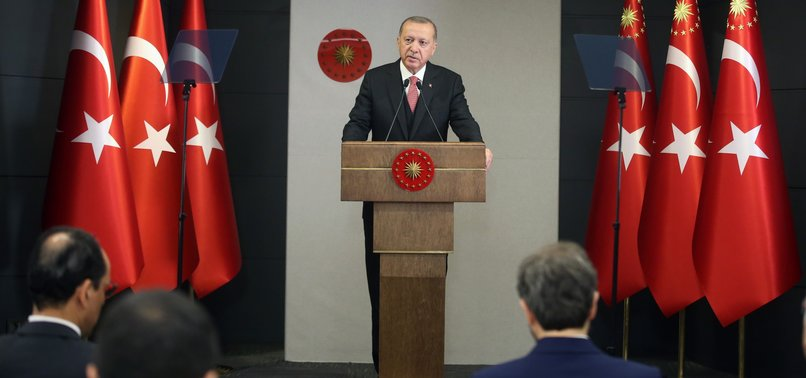 TURKEY TO START EASING CORONAVIRUS RESTRICTIONS AS OF MONDAY: ERDOĞAN