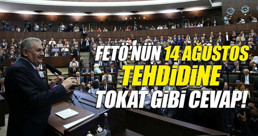 Binali Yıldırım: 14 ağustos Türkiye'ye efsaneler yaşatan Ak Partinin kuruluş yıl dönümüdür