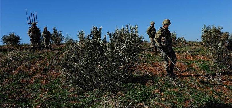 TERROR ATTACK MARTYRS TURKISH SOLDIER IN NORTHERN SYRIA